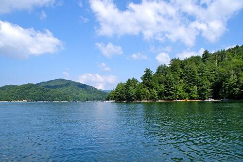 lake nantahala, NC