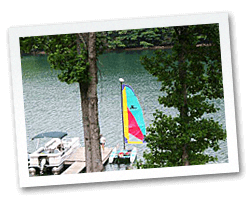 Sailing Lake Nantahala