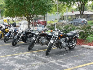 motorcycles to ride on Wayah Road in NC