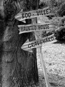 boo ville sign